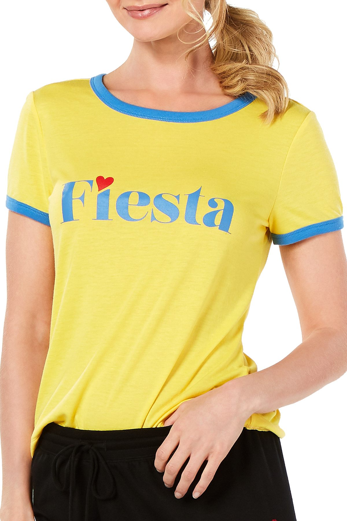 Jenni Ringer T-Shirt in Fiesta Yellow