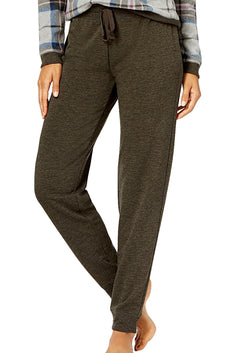 Jenni by Jennifer Moore Charcoal-Heather Jogger Lounge Pant