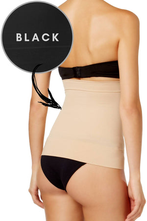Jockey Black Seamfree Waist Slimmer