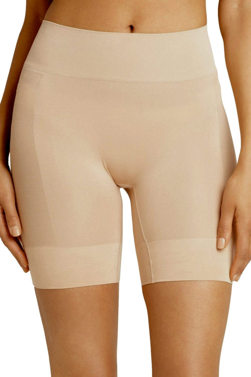 Jockey Light-Tan Mid-Length Skimmies Wicking Slip-Short - CheapUndies.com