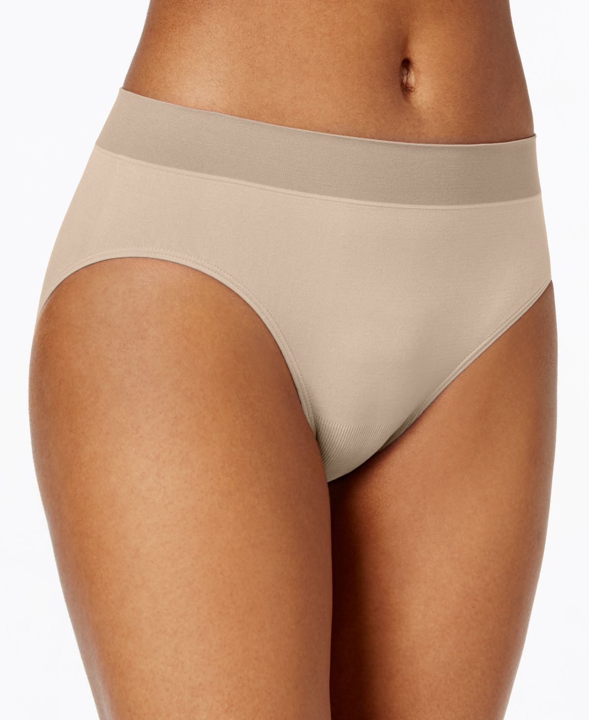 Jockey Modern Micro Seamfree Hi Cut Underwear 2042 Light (Nude 4)