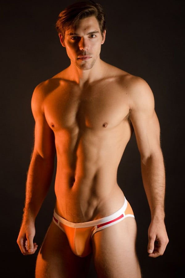 Jocko Orange Carlos Swim Brief