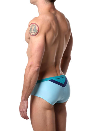 Jocko Powder Blue Kyle V-Insert Swim Bikini
