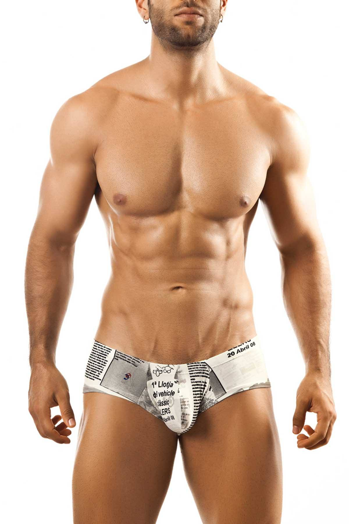 Joe Snyder Newsprint Bulge Mini-Cheek Trunk
