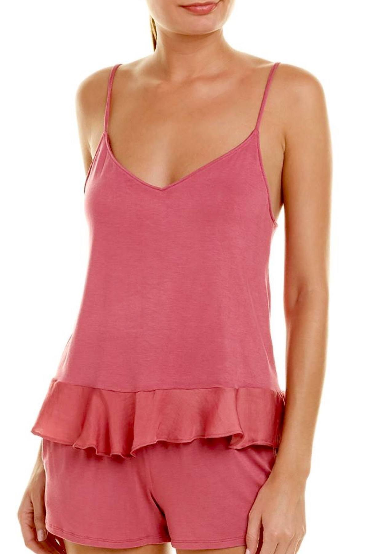 Josie by Natori Sweet Street Cami in Coral