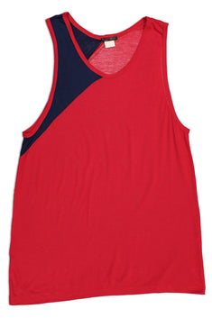 LASC Red & Navy Track Tank