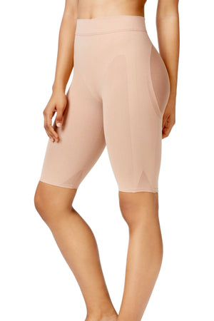 Leonisa Beige Well-Rounded Invisible Butt-Lifter Shaper-Short