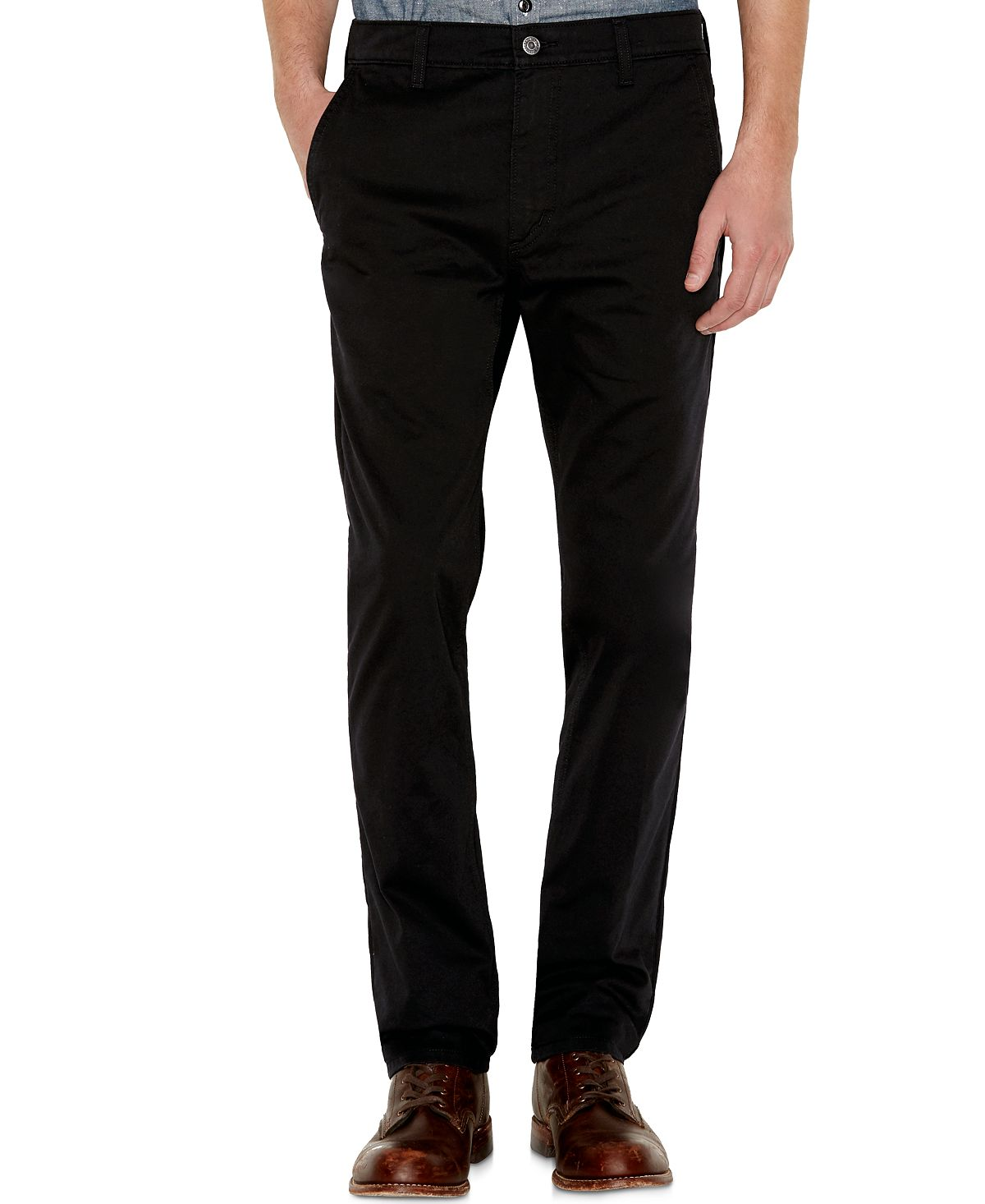 Levi's 511™ Slim Fit Hybrid Trousers Black - Waterless