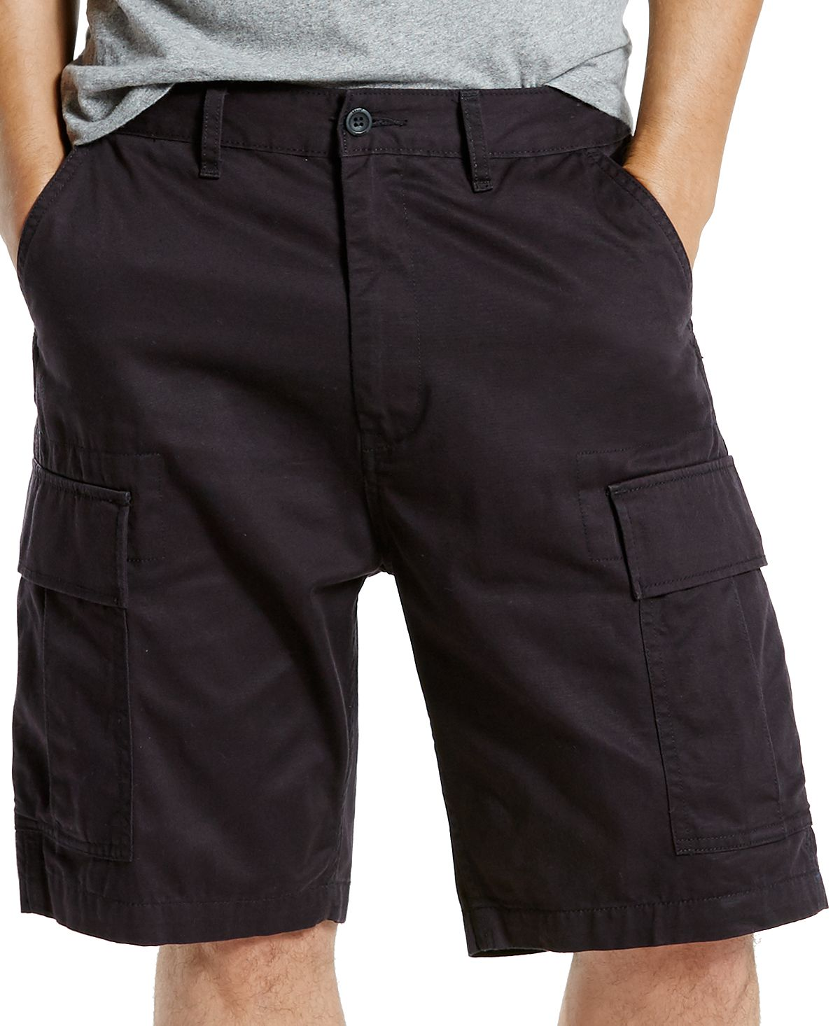 Levi's Carrier Loose-fit Cargo Shorts Black - Waterless