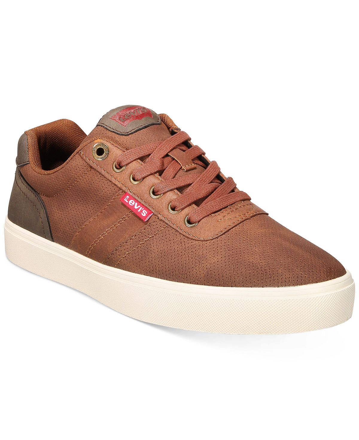 Levi's Miles Waxed Sneakers Tan/Brown