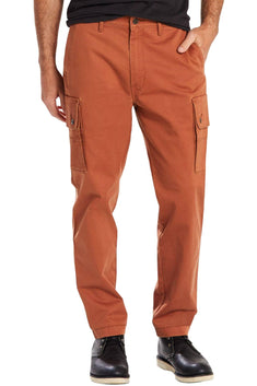 Levi's Rust-Copper Slim-Fit Tapered Utility Cargo Pant