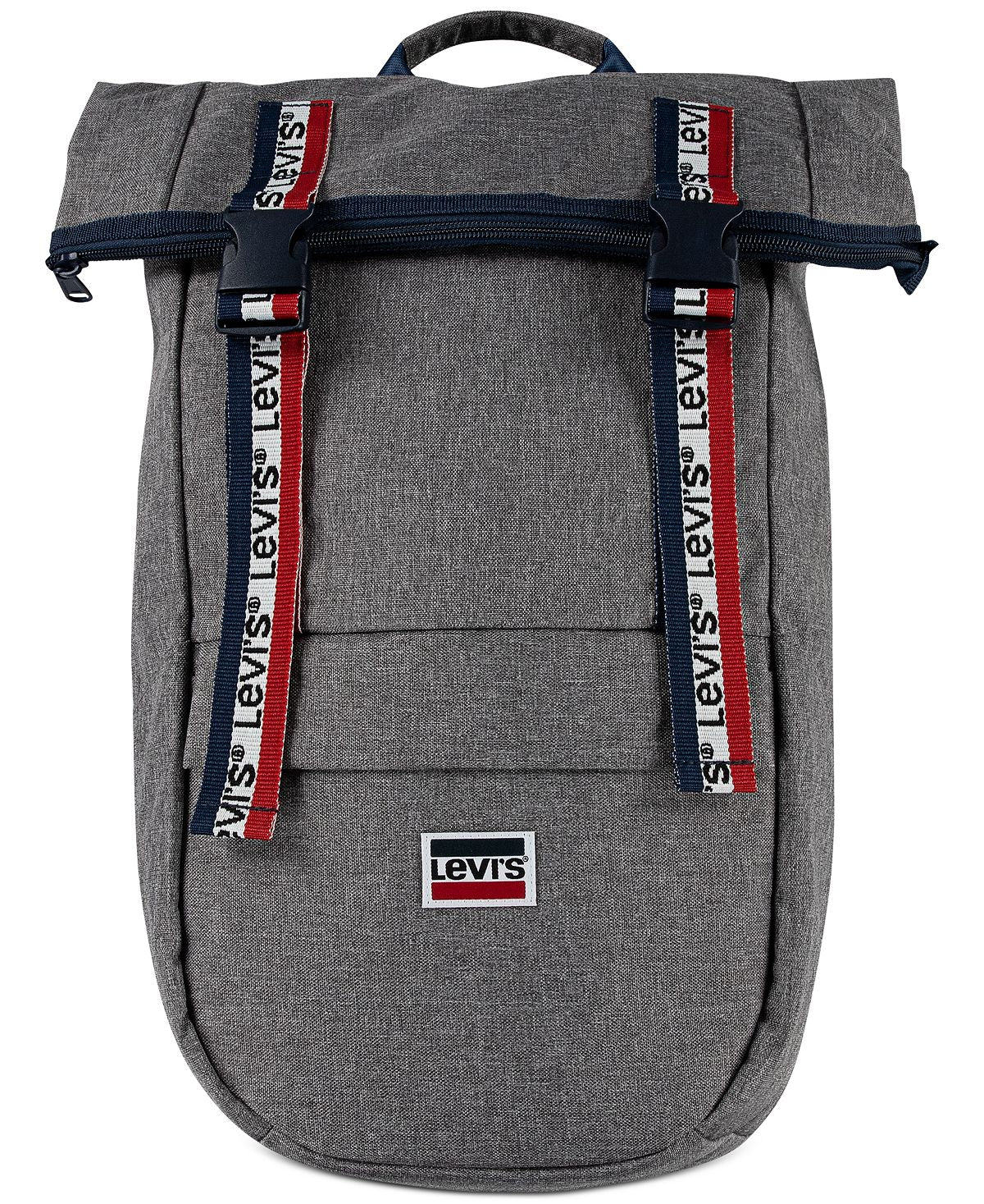 Levi's roll-top Logo Backpack Light Grey Heather