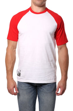 Lick Red Cotton Contrast Tee