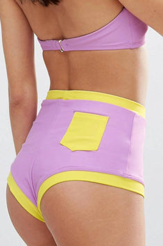 Lolli Lavender & Citron Cheeky High Waisted Bottom