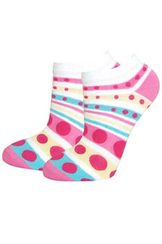 Lucci Pink Snowmelt Ankle Sock