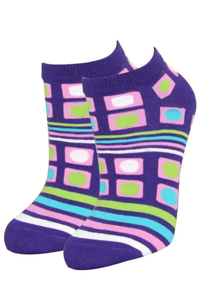 Lucci Purple Sunset Low-Cut Sock - CheapUndies.com