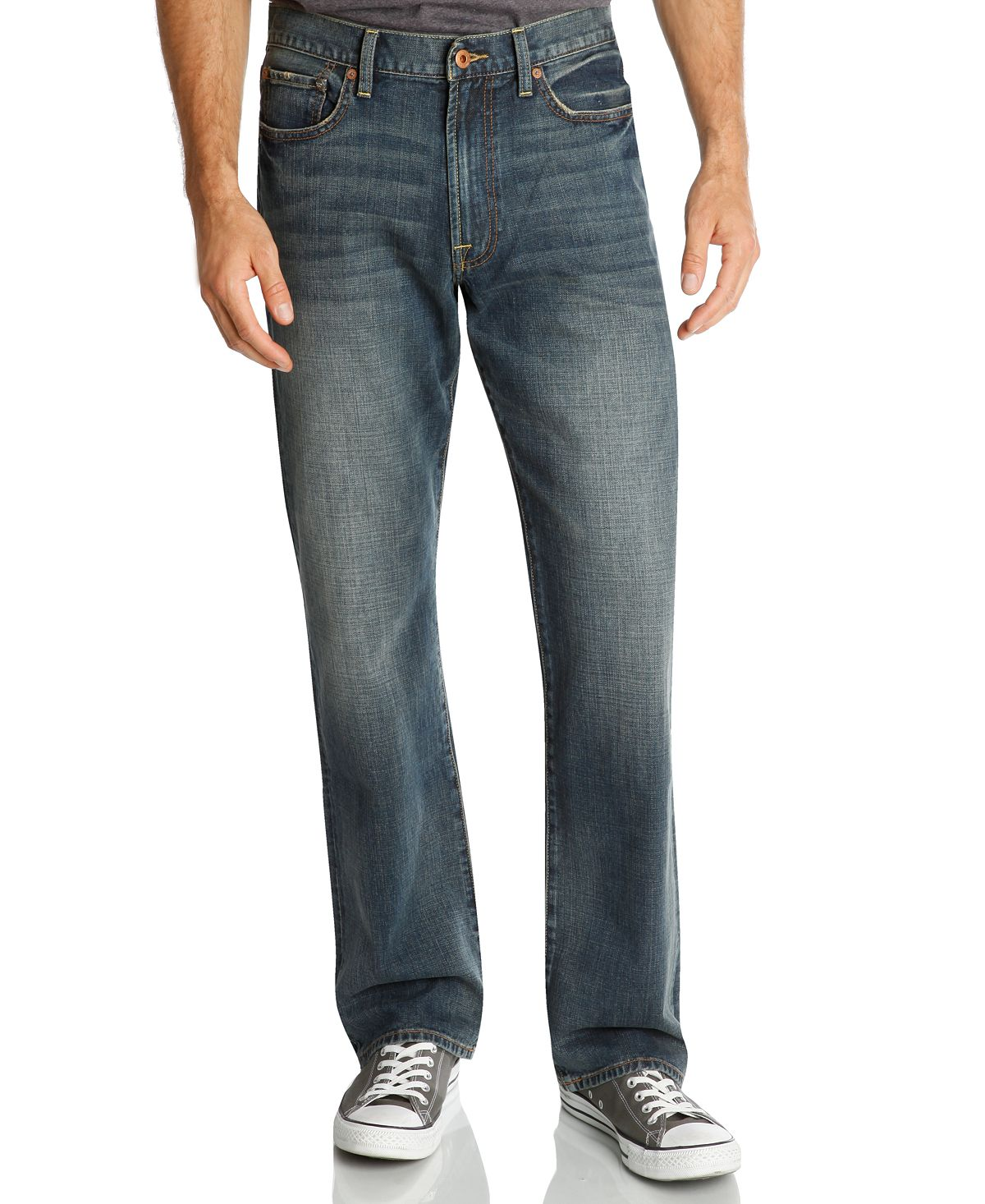 Lucky Brand 181 Relaxed Straight Fit Jeans Wilder