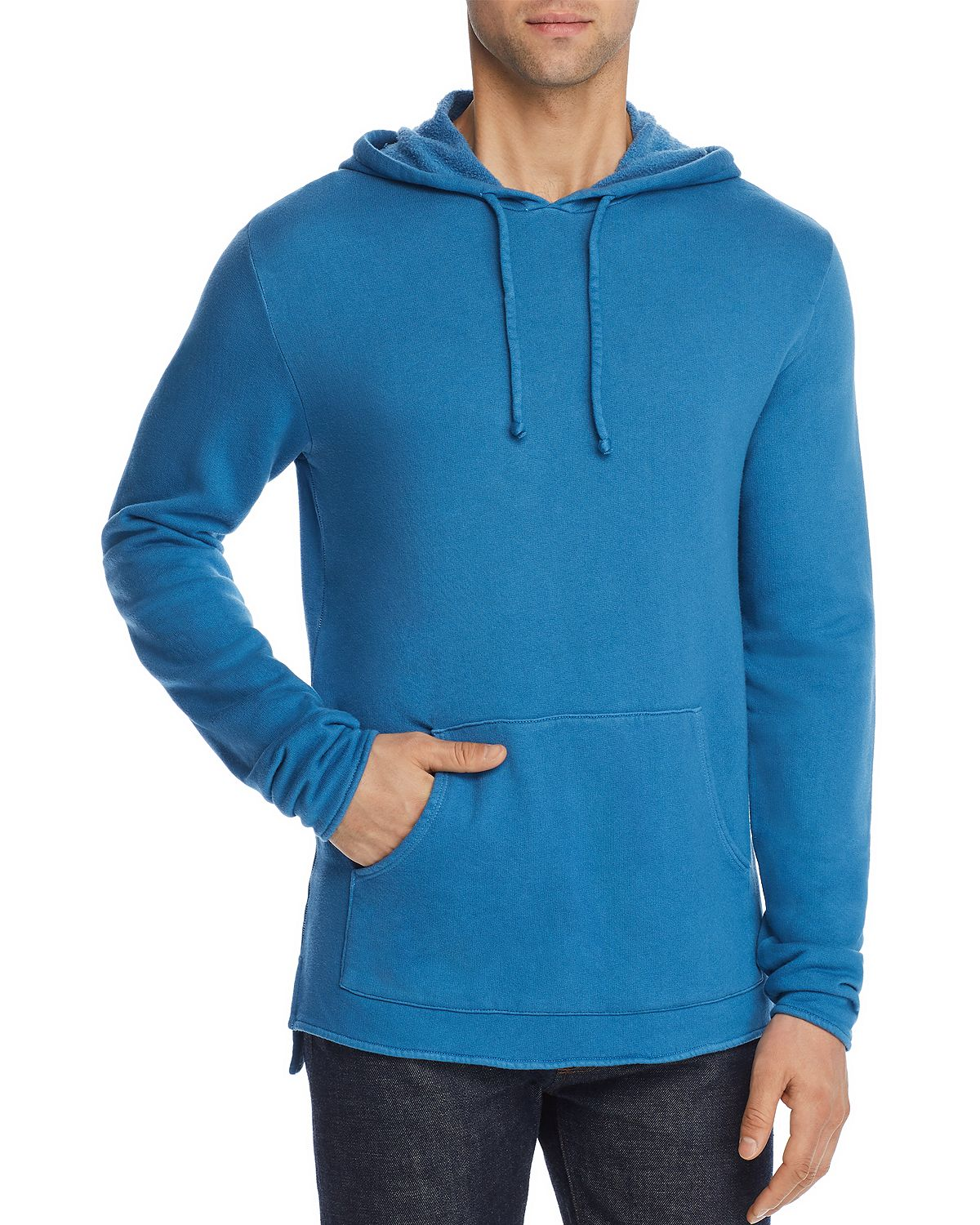 M Singer Hooded Sweatshirt Azure