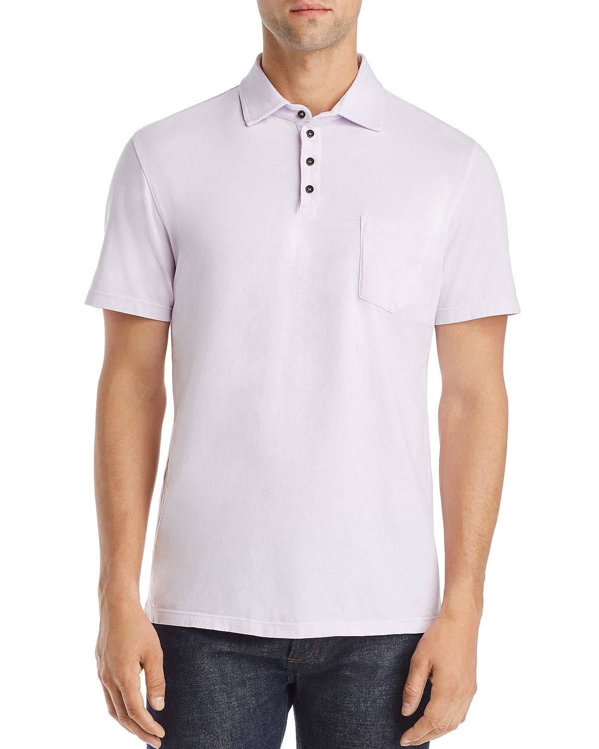 M Singer Polo Shirt Misty Lilac