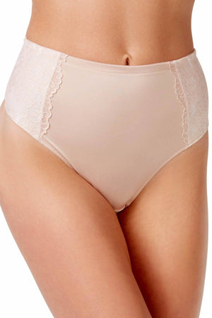 Maidenform Champagne/Ivory-Shimmer Sexy Secret Smoothing Thong