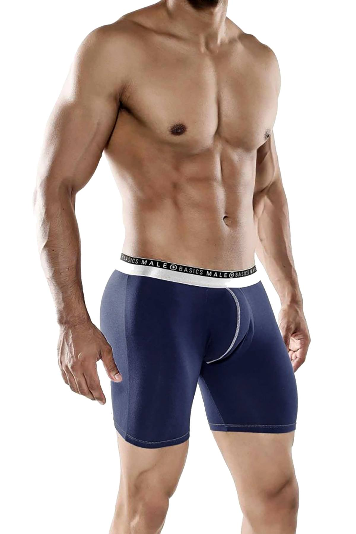 Male Basics Navy Everyday Boxer Brief