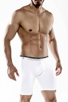 Male Basics White Everyday Boxer Brief