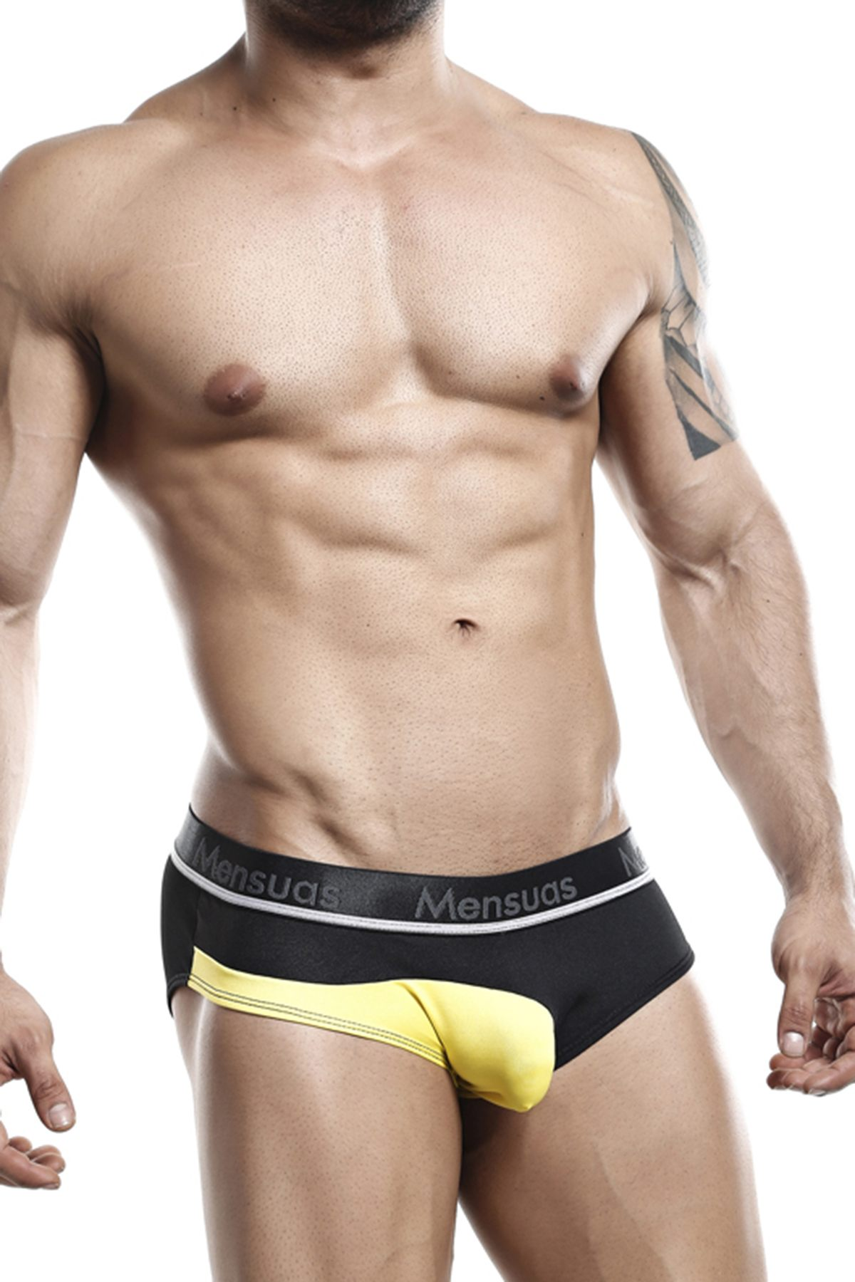Mensuas Black MNH034 Brief