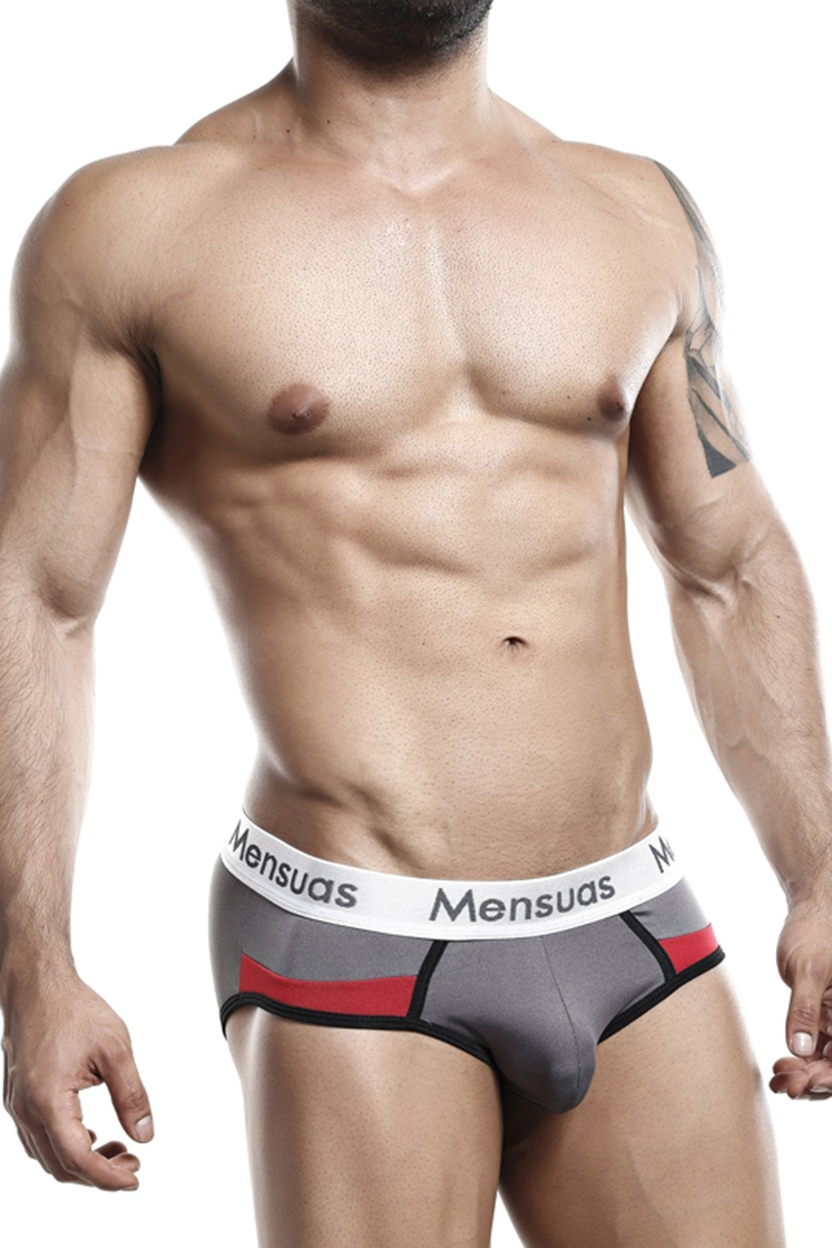 Mensuas Grey MNH033 Brief
