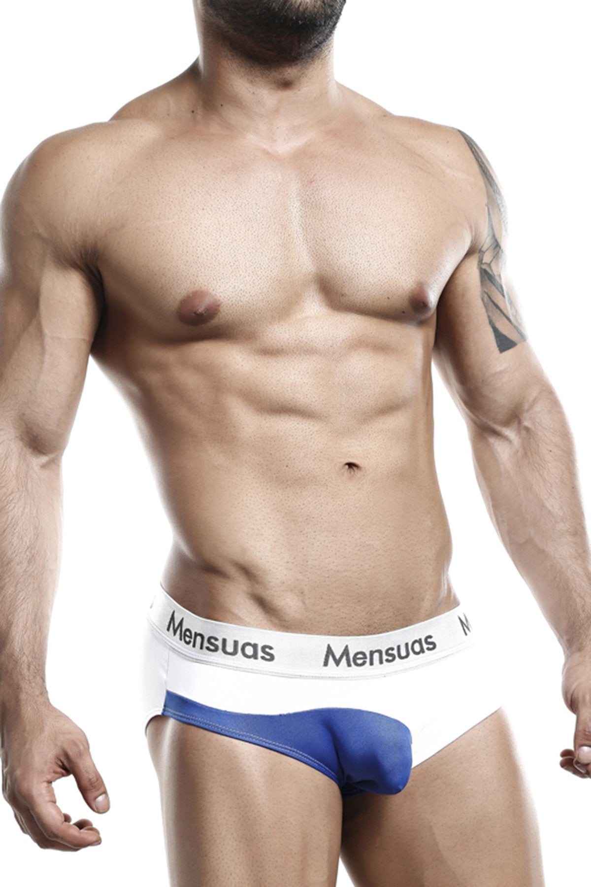 Mensuas White MNH034 Brief