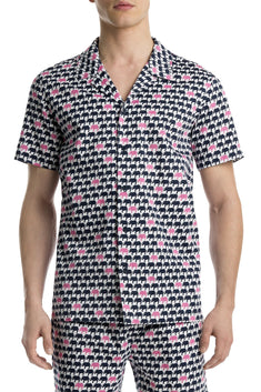 Mr.Turk x 2(X)IST Elephant-Print Button-Front Shirt