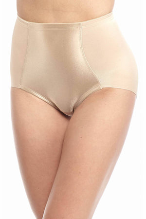 Naomi Nicole Nude Value Firm-Control Waist-Shaping Brief - CheapUndies.com