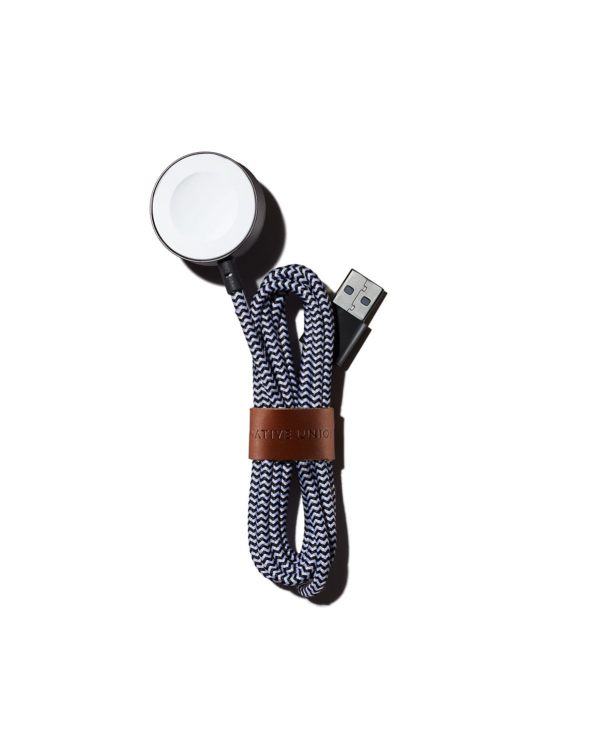 Native Union Magnetic Charging Cable Belt For Apple Watch Zebra
