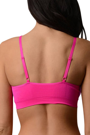 New Balance Pink Glo Athletic Bra