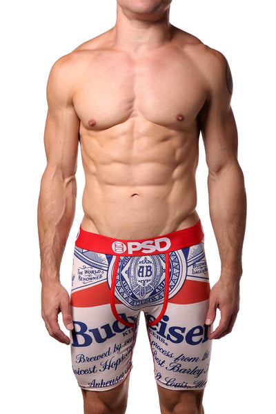 PSD Red Budweiser-Classic Boxer Brief