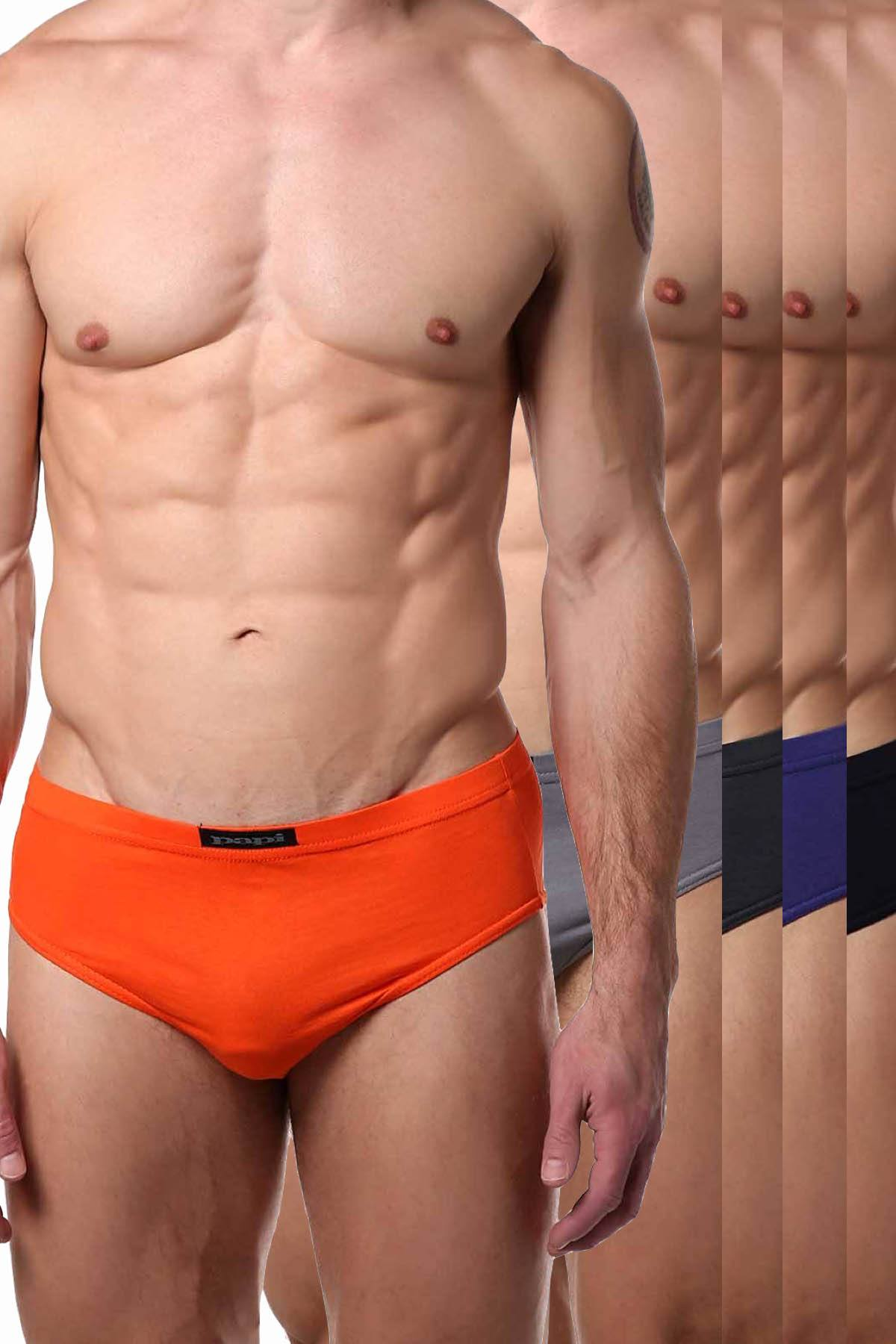 Papi Chilling Premium Cotton Low-Rise Brief 5-Pack
