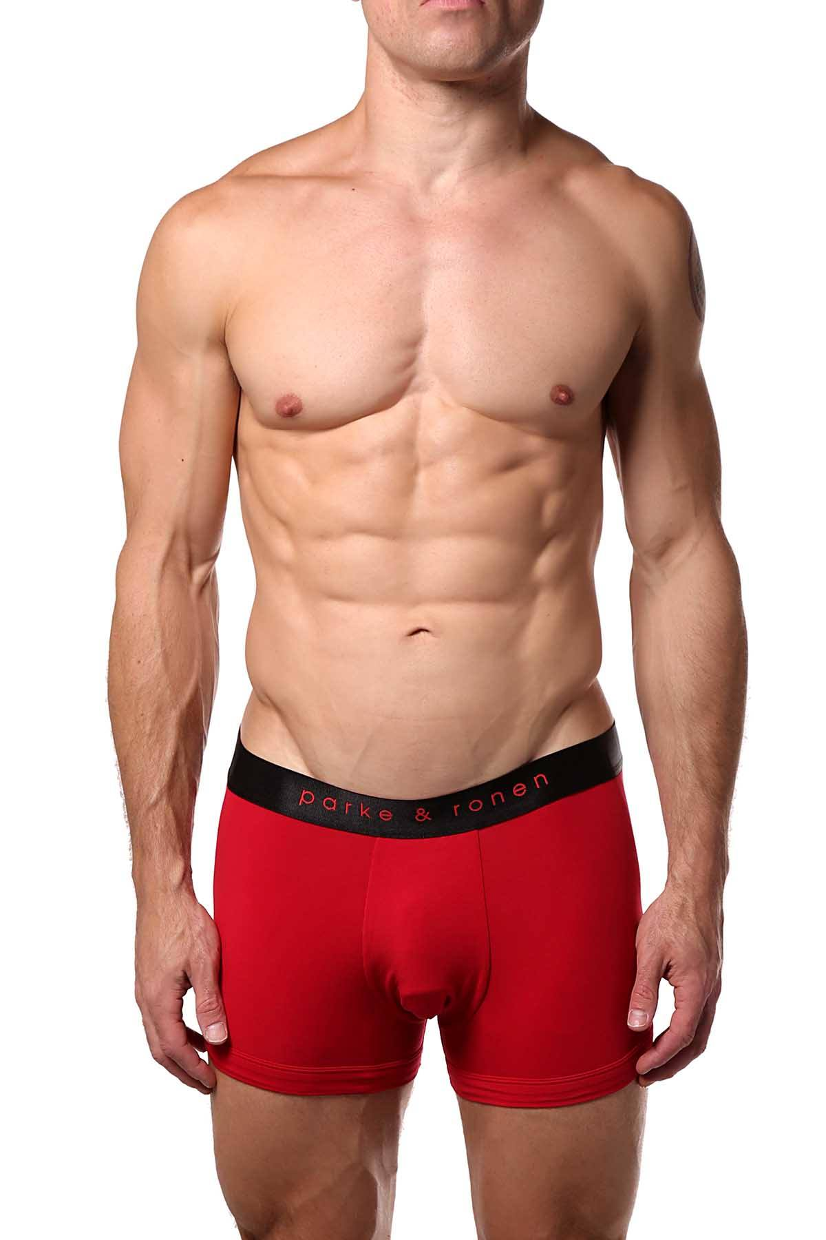 Parke & Ronen Red Solid Trunk