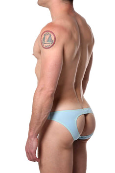 PetitQ Light-Blue/Yellow Colline Jock