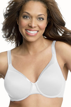 Playtex White Sensationally Sleek Underwire Bra