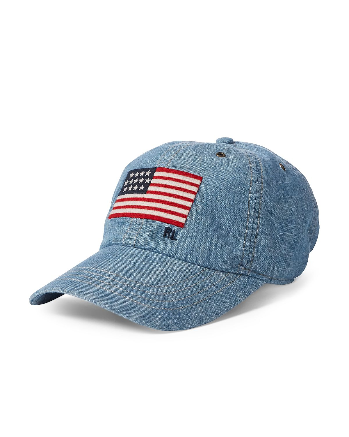 Polo Ralph Lauren Iconic Cap Chambray Blue