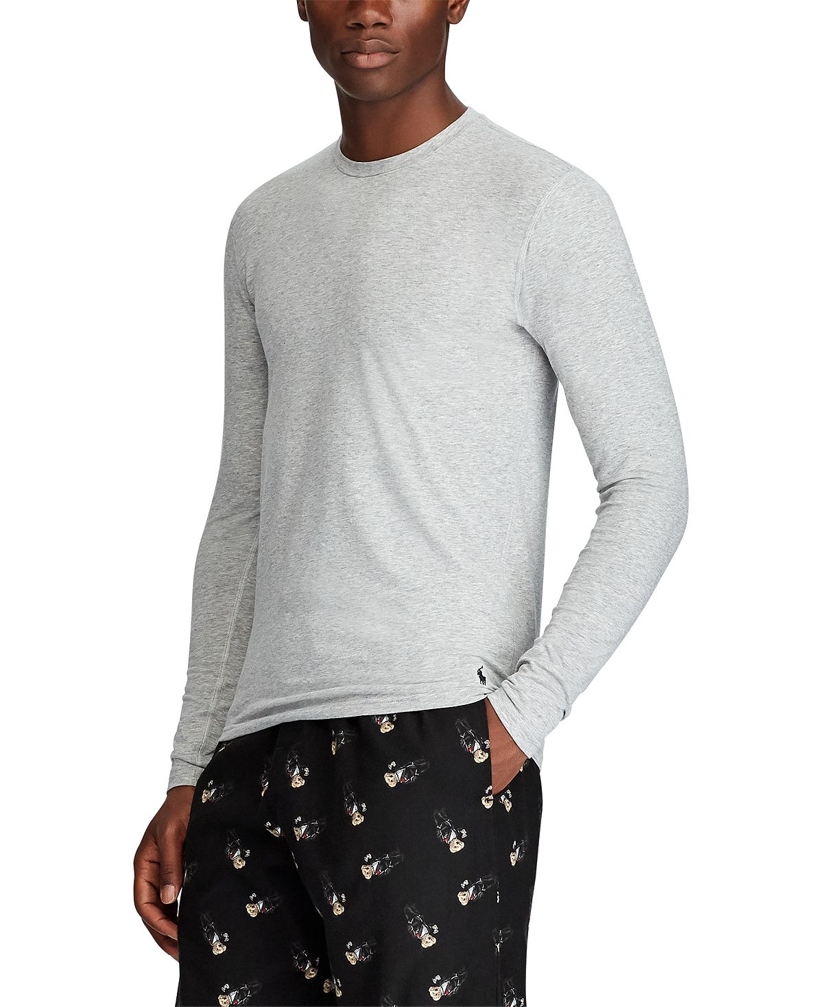 Polo Ralph Lauren Long John Shirt Andover Heather