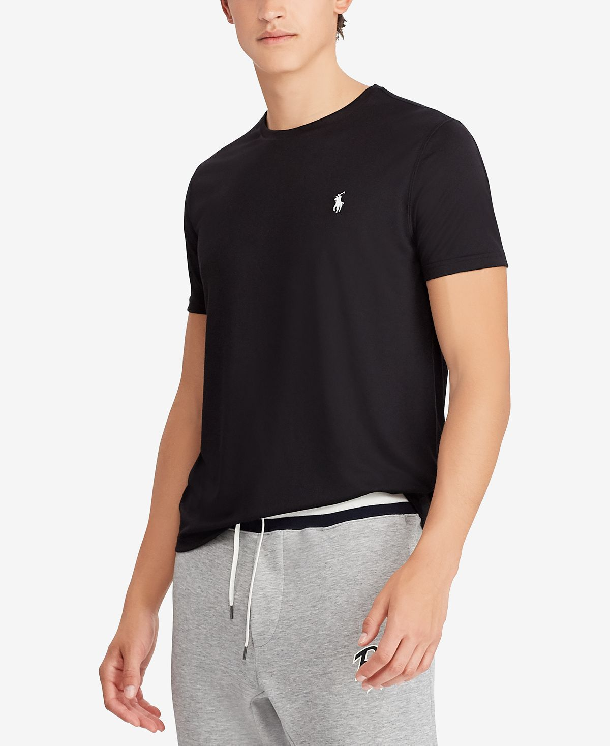 Polo Ralph Lauren Performance Jersey T-shirt Polo Black