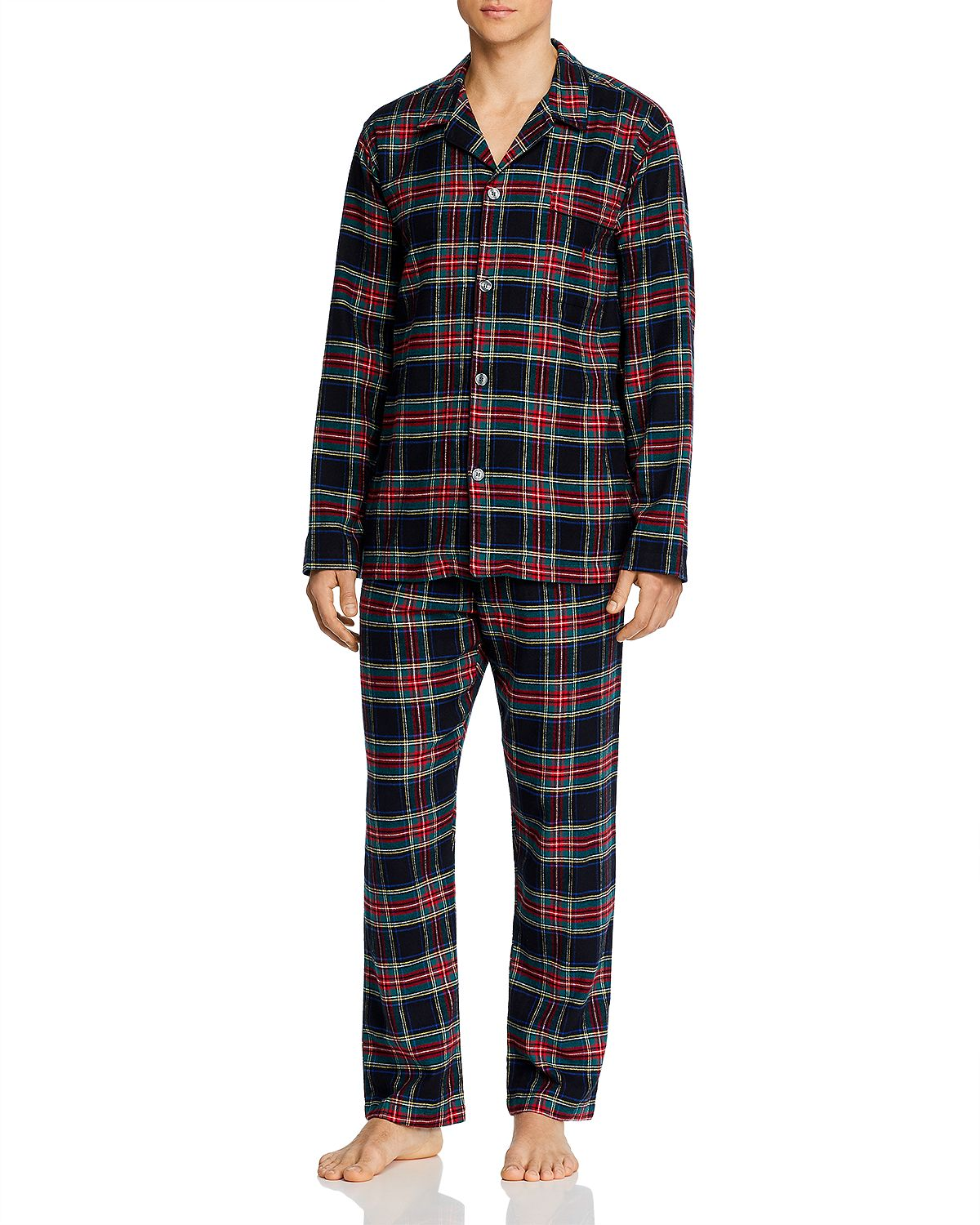 Polo Ralph Lauren Plaid Flannel Pajama Set Phillip Plaid