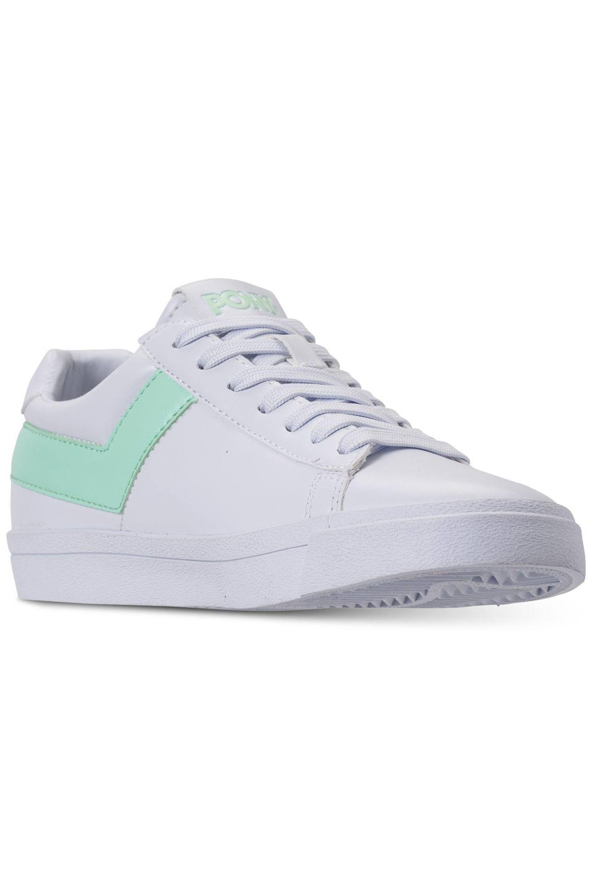 Pony White/Mint Top-Star Lo Core Sneakers