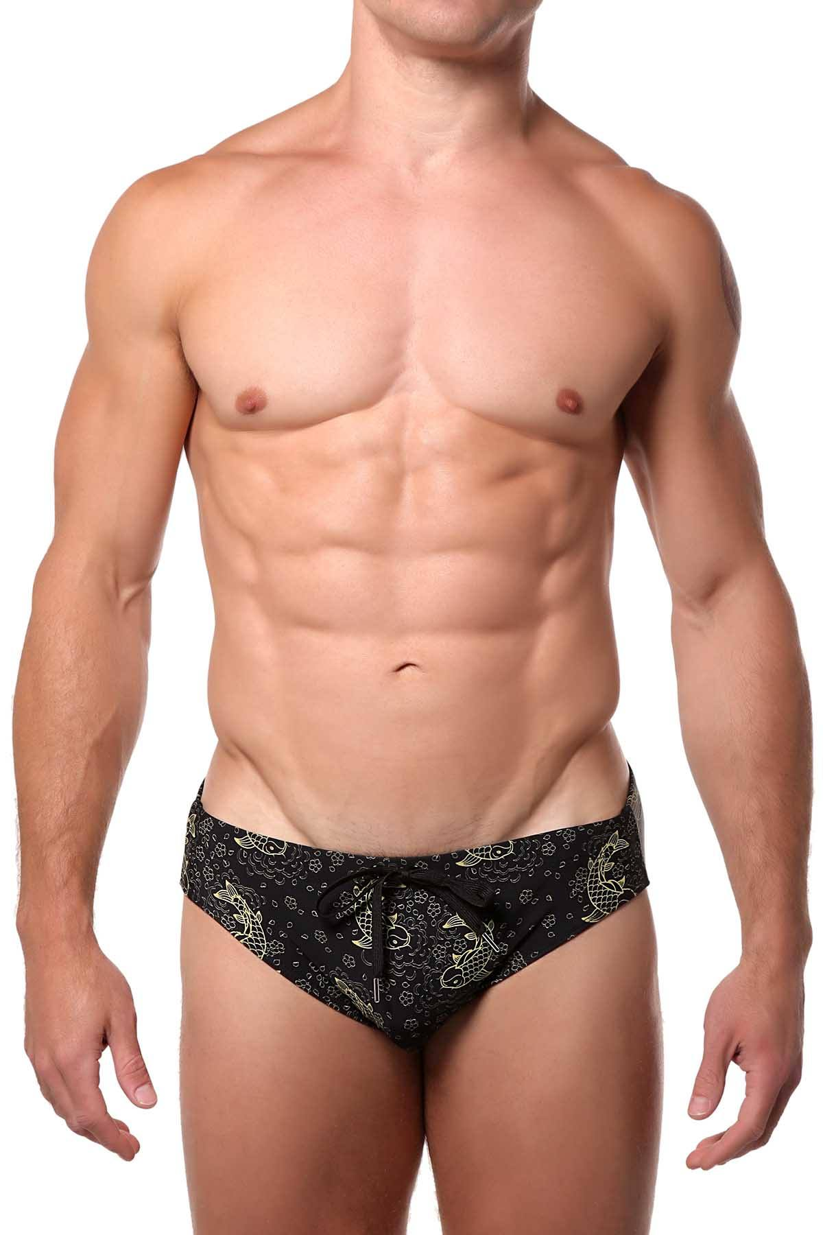 Pool Boy Koi Lines Swim Brief