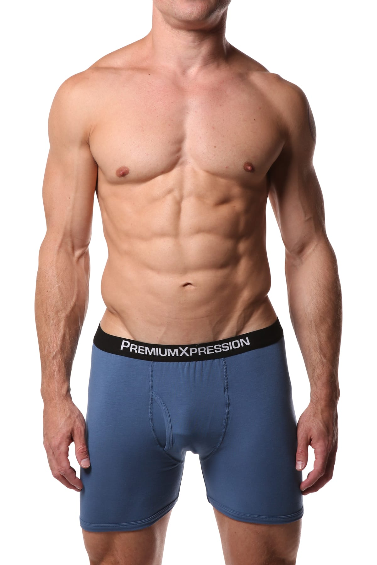 Premium Xpression Lake-Blue Boxer Brief