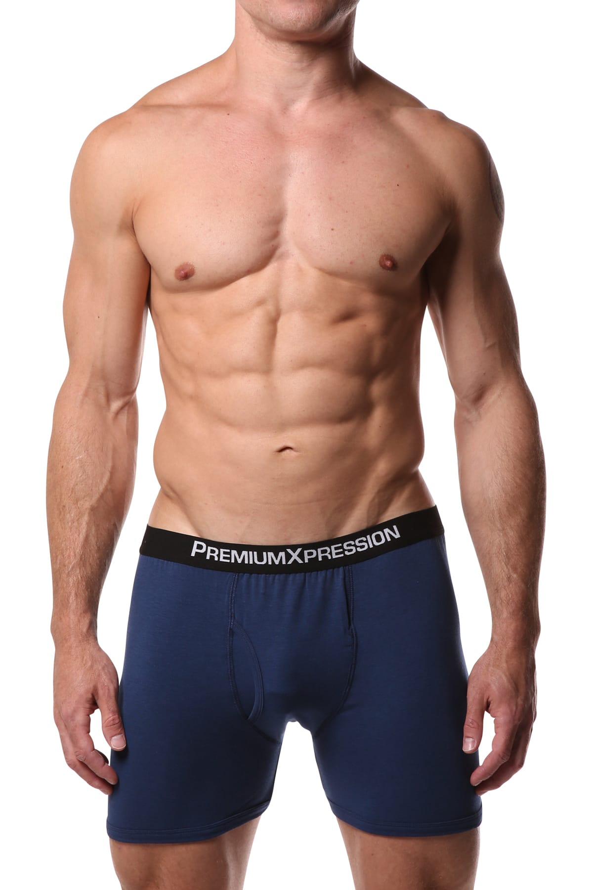 Premium Xpression Navy Boxer Brief