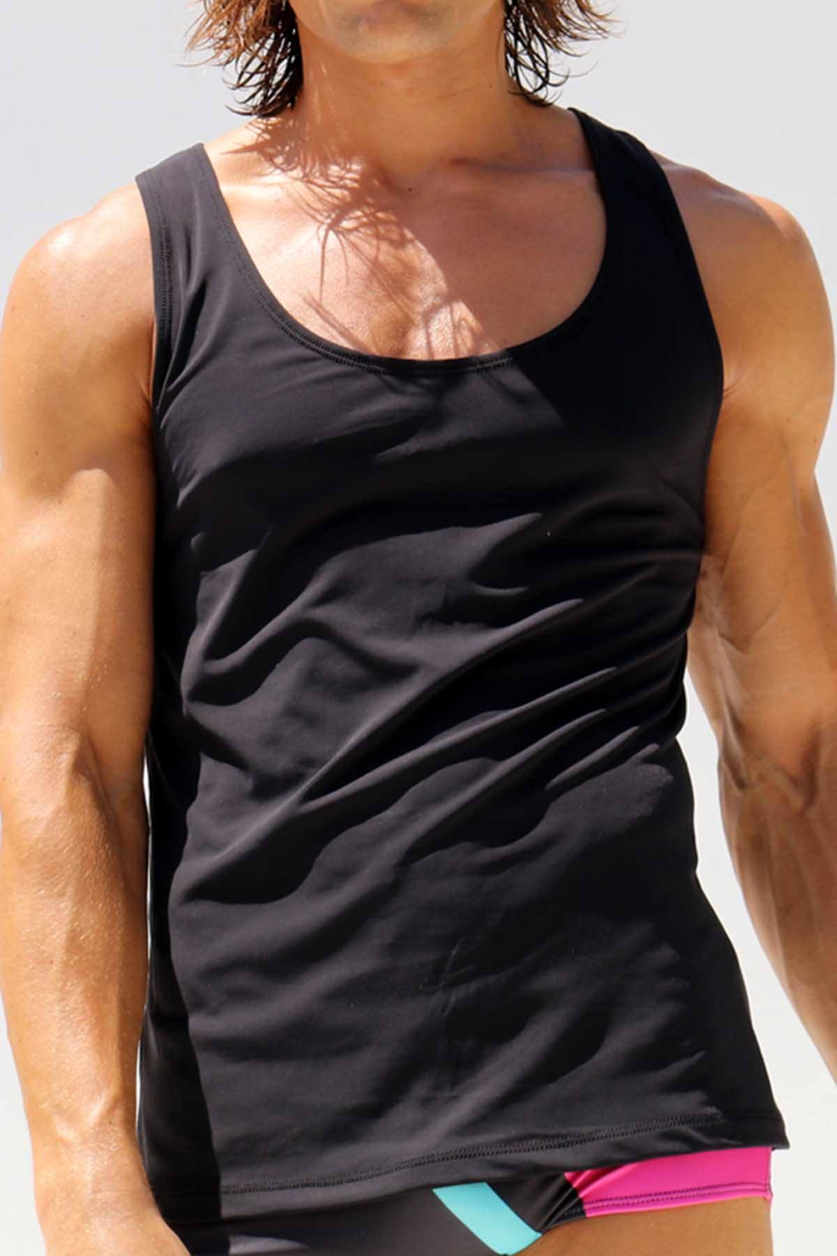 Rufskin Black DECLAN Tank Top