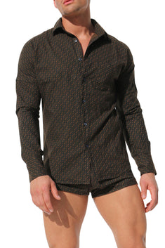 Rufskin Brown Ennio Dress Shirt