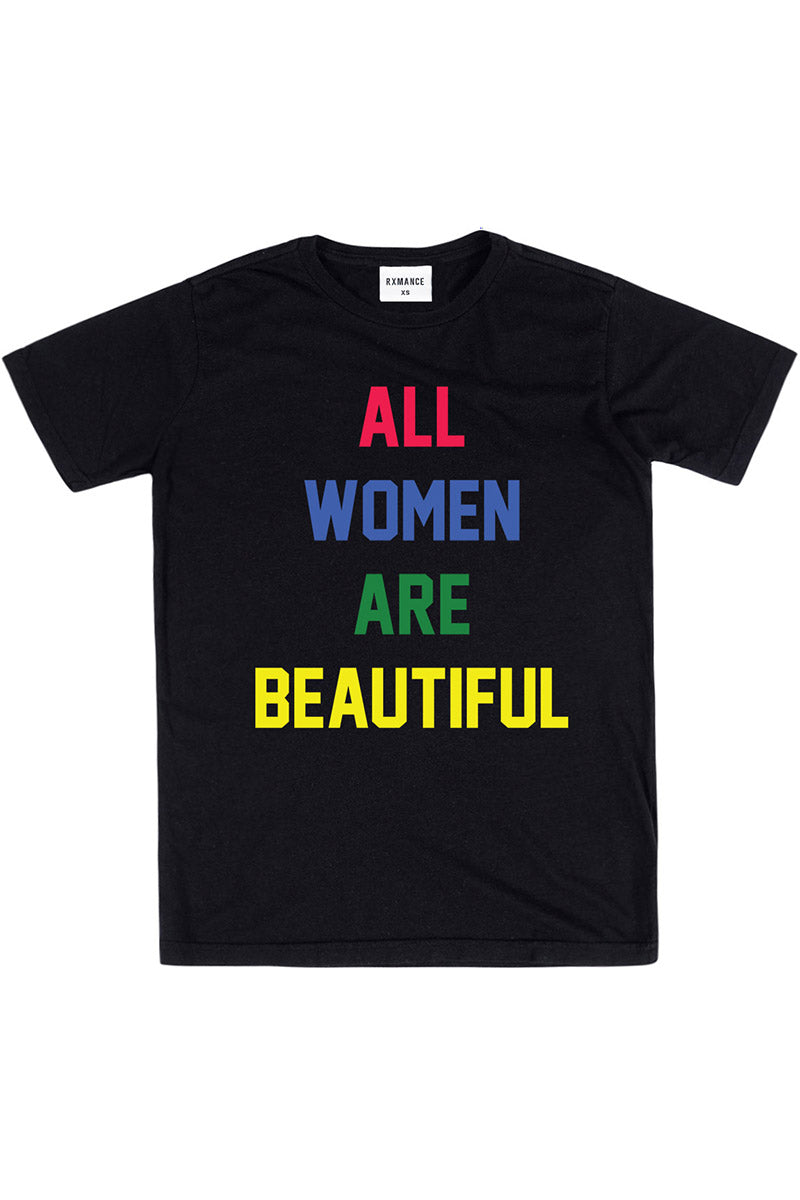 Rxmance Unisex Black 'All Women' Tee