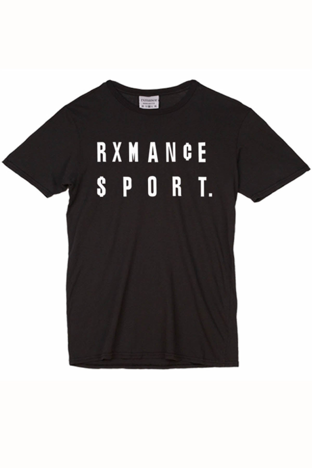 Rxmance Unisex Black 'Money' Tee